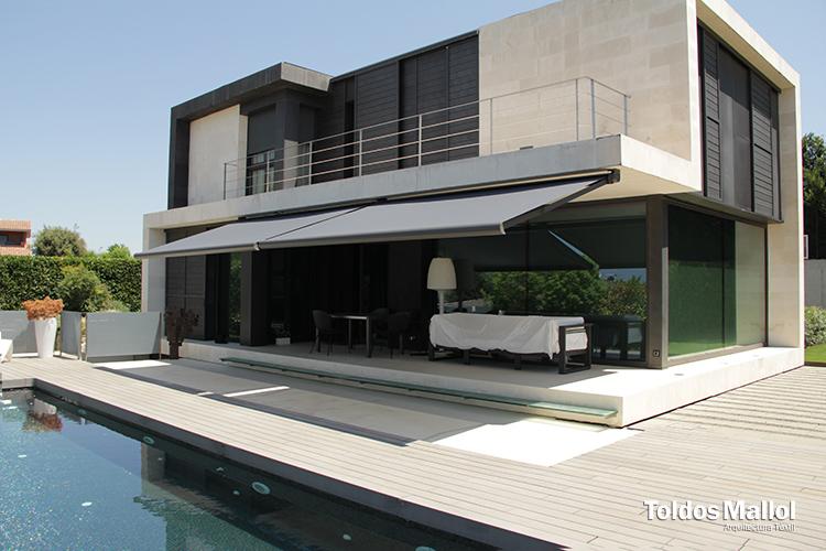 Casa particular projectes mallol arquitectura t xtil - Interiorista girona ...